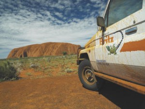 4WD campervan in Australia