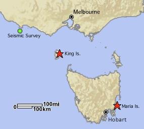 Bass Strait Australia