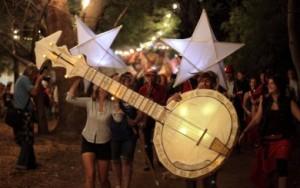 FolkWorld Fairbridge Festival eventgoers