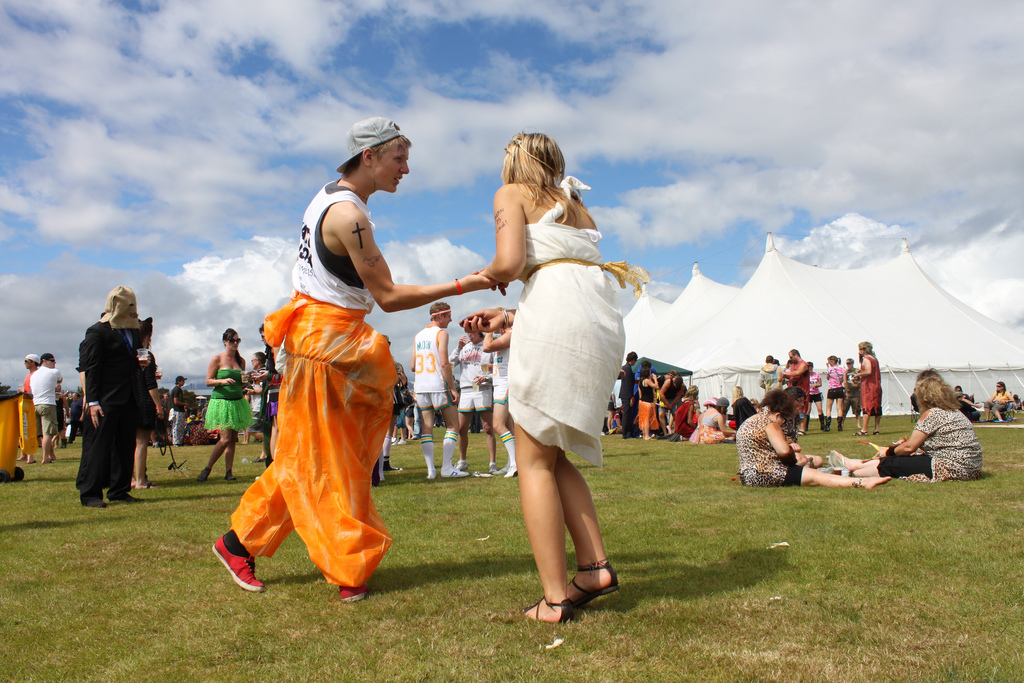 New Zealand: Wildfoods Festival in Hokitika