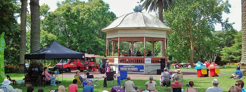 Music in Parks Auckland
