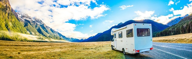 Free campervan in New Zealand