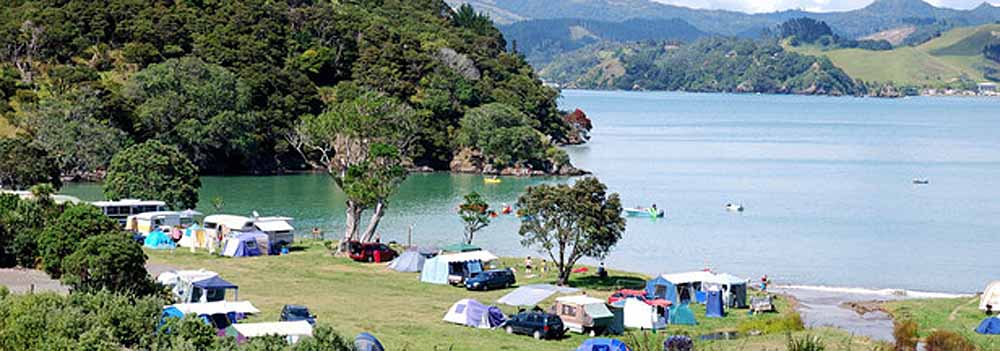 Free campsites in New Zealand