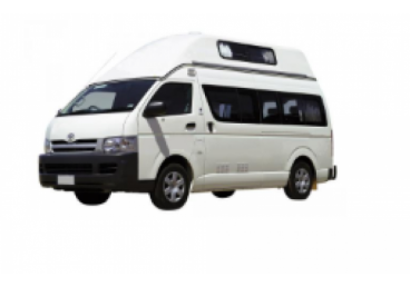 2 berth campervan (Please note: this vehicle contains a porta potti as the toilet. No shower.). May be different from images supplied. Suitable for 2 adults only. No children under 8 years old or requiring a booster or child seat. Road User Charges apply for all kilometers travelled.