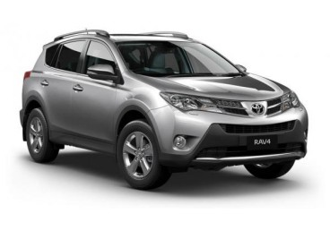 The Toyota Rav4 is one of our most popular rental car options. With enough cabin space to comfortably fit 5 adults, 4 large and 3 small suitcases it is the ideal choice for travelers looking for a modern, spacious 4x4 vehicle.
