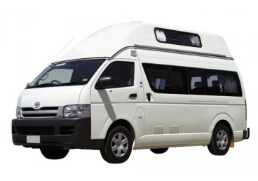 4 berth campervan Hitop. May be different from the images supplied. Suitable for 4 adults or 2 adults and 2 children.