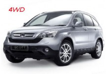Mid size 4WD such as a Honda CRV or a Ford Escape