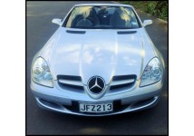 Mercedes Benz SLK two seater hard top convertible. Very comfortable automatic. Very cheap on fuel.