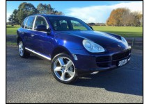 Porsche luxury SUV. Full leather interior with heated seats. Most comfortable car to drive long distance.